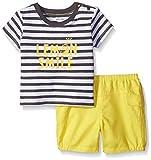 Absorba Baby Boys 'Tejido Knit Top y corto -  negro -