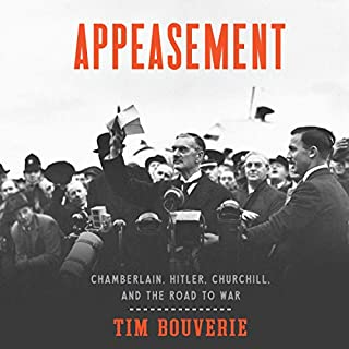 Appeasement audiobook cover art