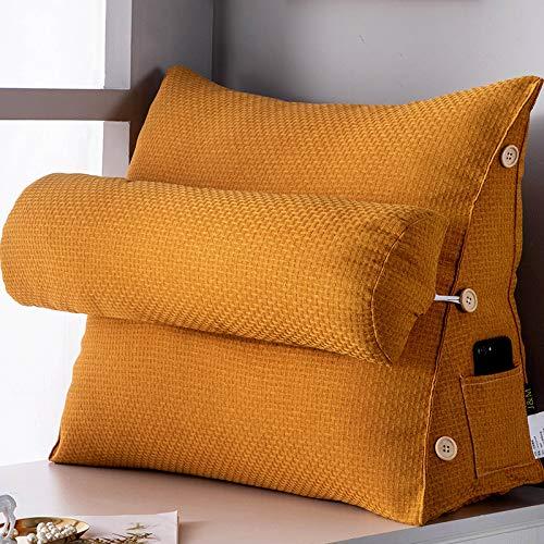 Keilkissen Für Bett Und Sofa | Rückenstütze | Nackenkissen | Lesekissen | Das Perfekte Couch Kissen Für Ihr...