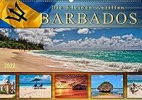 Die kleinen Antillen - Barbados (Wandkalender 2022 DIN A2 quer): Traumhafte Straende, azurblaues Wasser - die Postkartenidylle schlechthin. (Monatskalender, 14 Seiten )