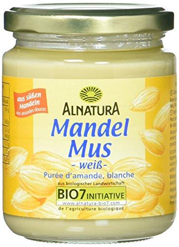 Alnatura Bio Mandelmus weiß, vegan, 250 g