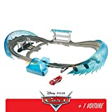 Disney Pixar Cars Grand Circuit de Floride pour Course de Voitures, avec Booster Véhicule Flash Mcqueen inclus, Jouet pour enfant, Fcw02