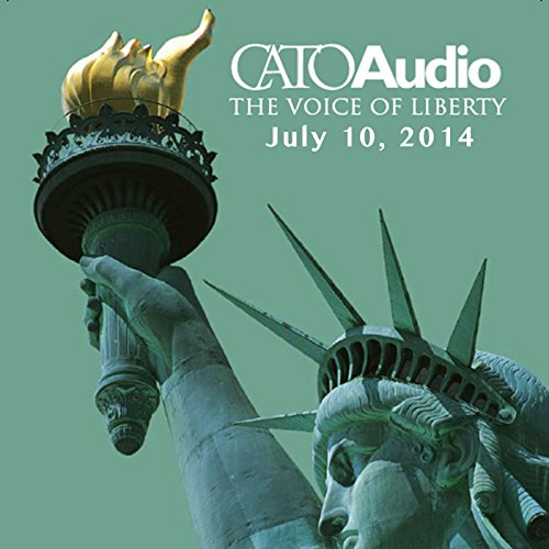 CatoAudio, July 2014 audiobook cover art