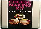 Kit para hacer queso, mozzarella y ricotta, termómetro y sonda incluido, ideal para uso doméstico, bonito regalo único