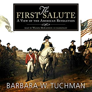 The First Salute audiobook cover art