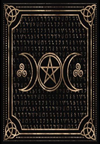 Libro de las Sombras: Cuaderno en Blanco Para Escribir Hechizos   Conjuros y Recetas Mágicas   Libro de Hechizos   Grimorio de Brujería   El Regalo Ideal Para Brujas Aprendices o Experimentadas
