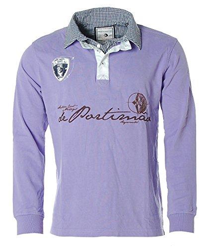 ARQUEONAUTAS® Polo-Pullover Longsleeve -de Portimaó- Lila XL
