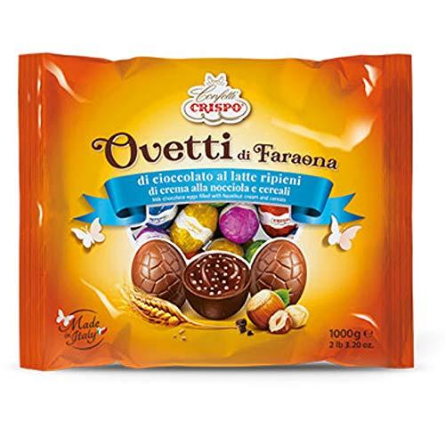 Crispo Ovetti di Faraona, Cioccolatto, Crema Nocciola e Cereali, 1kg
