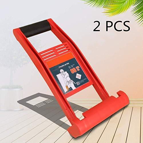 2 PCS Gorilla Gripper Board Lifter Propósito General, Tablero Contrachapado Portador Handy Grip Free Hand, Load80kg / 176 Libras,Naranja