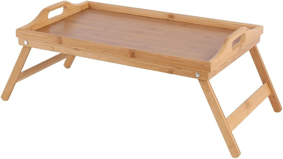 Folding Bed Tray Leg Design Made San Jose Mall Discount mail order of B Quality Bamboo Bamboo+MDF
