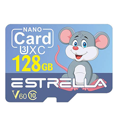 Motyy - TF Card U1 Flash Memory - Card per Telefono Action Camera Sports Cam Motorcycle Dash Cam 128GB
