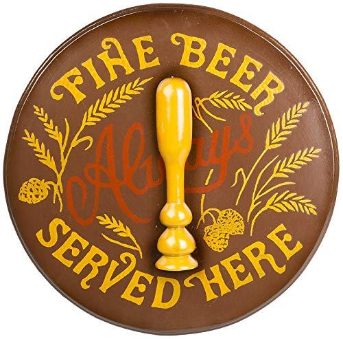 Agora Vintage Nostalgie Schlüsselkasten Fine Beer Schlüsselkasten Look Shabby Chic Retro Deko Wandfigur