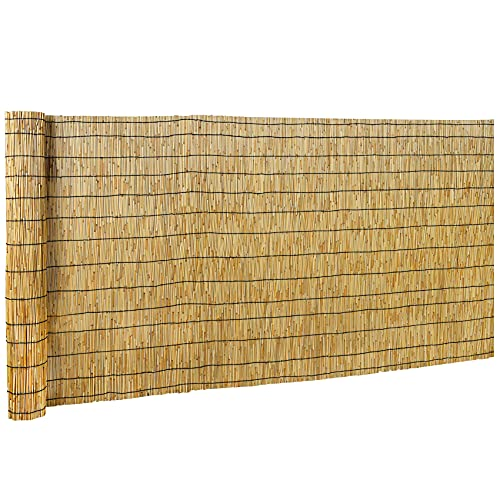 DearHouse Natural Reed Fencing, Eco-Friendly Reed...