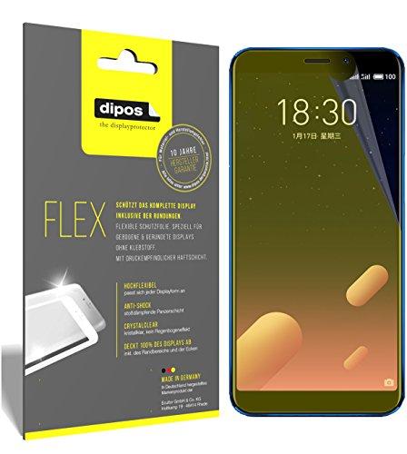 dipos I 3X Schutzfolie 100prozent kompatibel mit Meizu M6S Folie (Vollständige Bildschirmabdeckung) Bildschirmschutzfolie