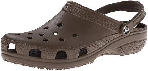 Crocs 10001, 10001, 10001, Sabots Mixte Adulte - Marron - Chocolat, 37 38 EU 37e