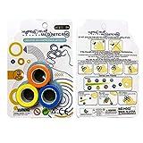 kidsroar magnetic ring spinners for kids-Multi color