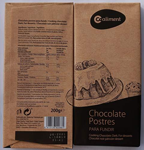 Chocolate de postres para fundir 400 g. (pack 2*200 g)