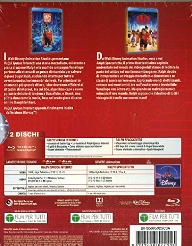 ralph & ralph spacca internet (2 Blu Ray)