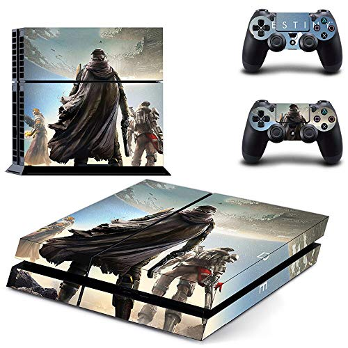 TSWEET Destiny 2 Ps4 Skin Sticker Decal for Playstation 4 Console and 2 Controllers for Dualshock 4 Ps4 Skin Sticker Vinyl