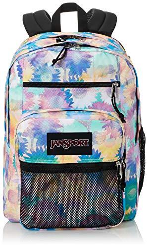 Jansport Big Campus Backpack - Lightweight 15-inch Laptop Bag, Sunflower Field