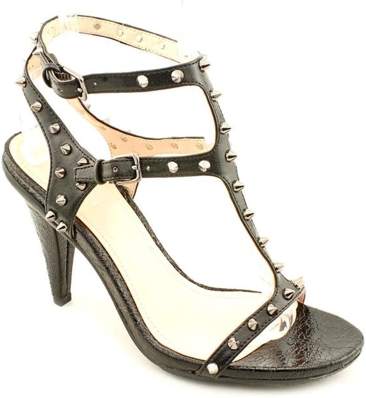Kenneth Cole Reaction Know Stud Womens US Size 8.5 Black Dress Sandals shoes