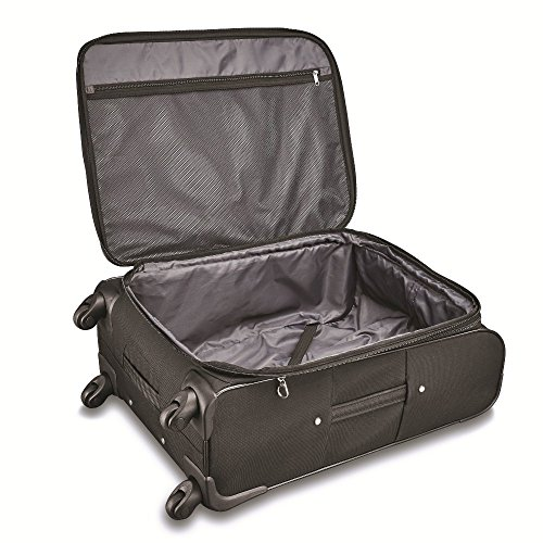 Samsonite Victory 2 Piece Nested Softside Set (21'/29'), Black, Only at Amazon