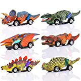 ATOPDREAM Toys for 2-8 Year Old Boys, Dinosaur Toys for Boys Gifts for 2 3 4 5 Year Old Boys Girls Car Toys for...