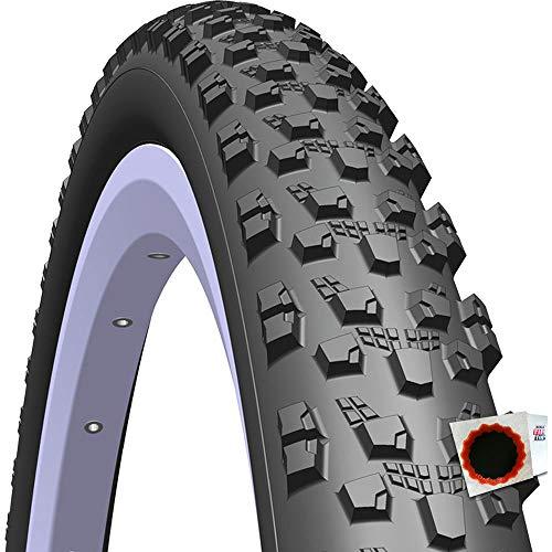 Mitas+TipTop Reifen Tomcat R12 Classic 29 29x2.10Zoll 54-622mm + Flicken schwarz