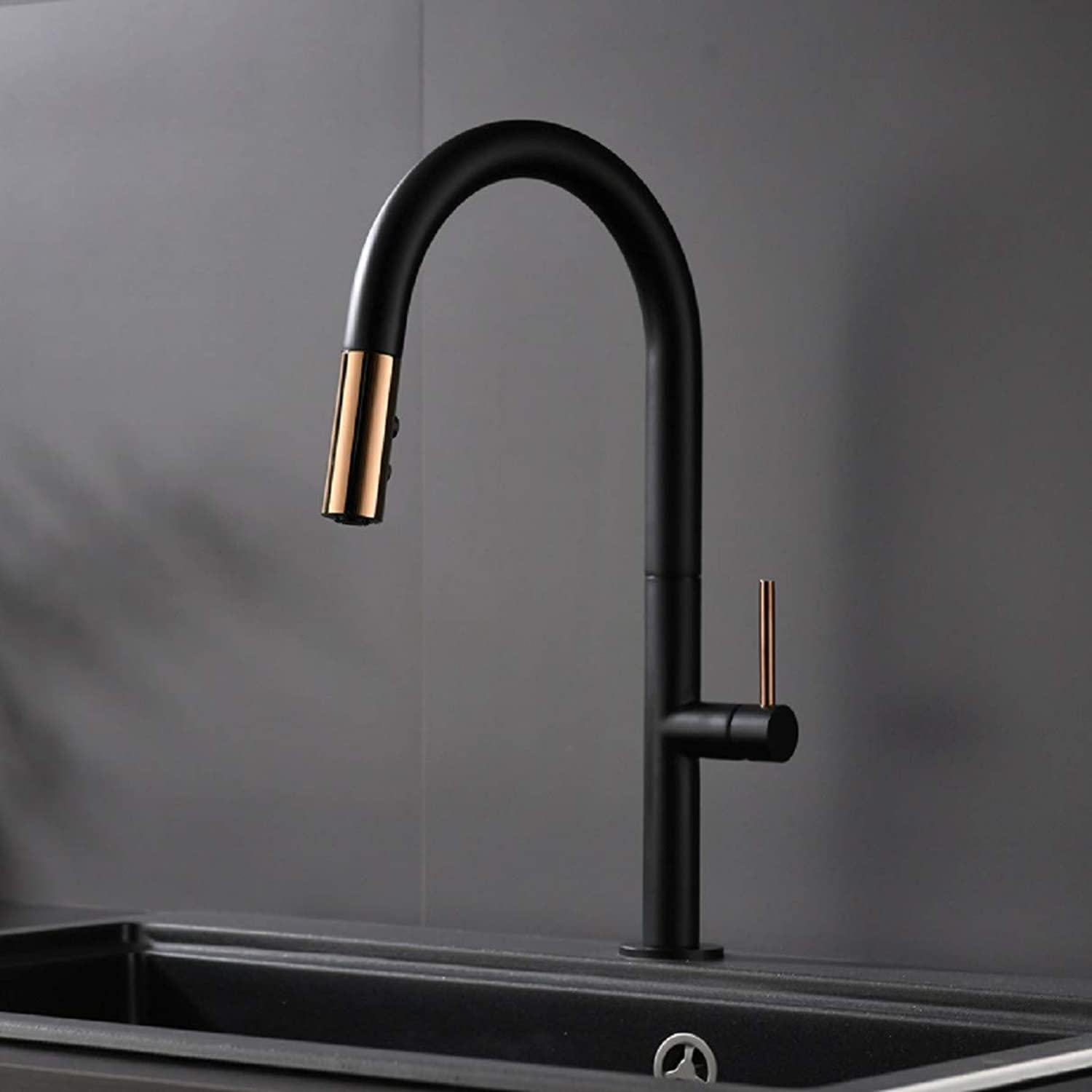 Kitchen Tap Cool and Hot Washing Pot Kitchen Washing Pool Pull-Out Type with Faucet Kitchen Taps Kitchen Sink Mixer Taps Basin Tap
