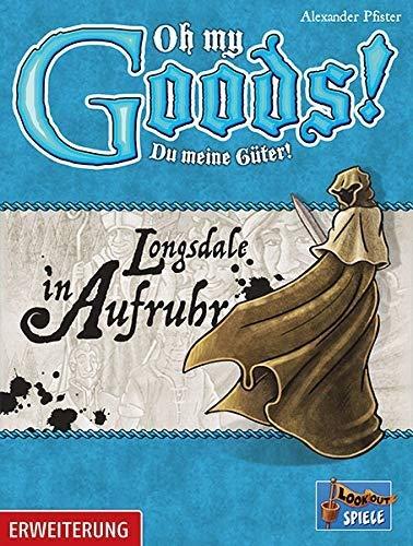 Lookout Games 22160088 Oh My Goods Longsdale in Aufruhr - Juego de Mesa (Contenido en alemán) [Importado de Alemania]