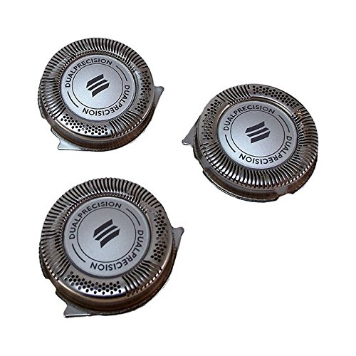 Set of 3 New Phillips Norelco HQ8 SH50/52 Replacement Electric Shaving Head Razor Blades for PT720 PT724 PT730 AT810 AT830 HQ6090 7800XL HQ8160 8890XL HQ9160 Aquatec, 3000, 5000, Dual Precision Razors