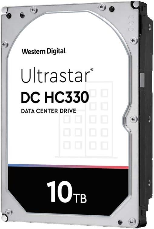 WD WUS721010ALE6L4 Ultrastar DC HC330 0B42266 10TB 7200 RPM SATA 6Gb/s 256MB Cache 3.5-Inch Enterprise Hard Drive