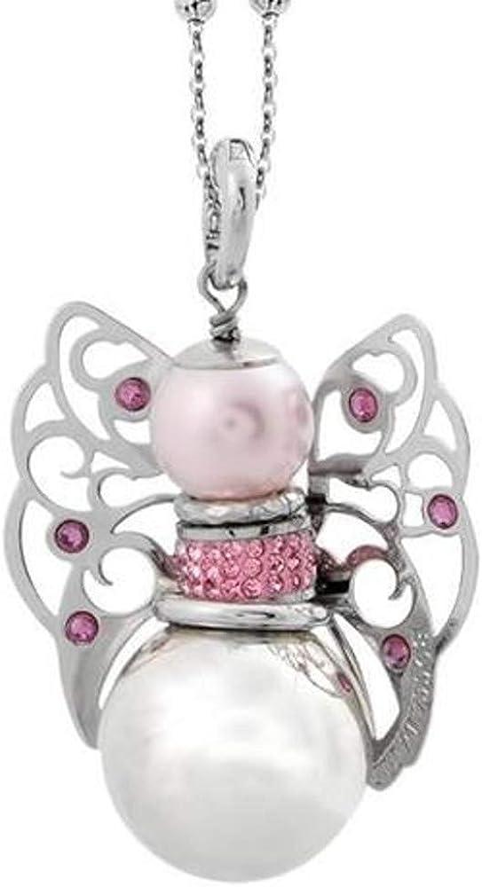 Boccadamo,collana per donna, in bronzo rodiato,con perla e cristalli swarovski KU/GR20 KUGR20