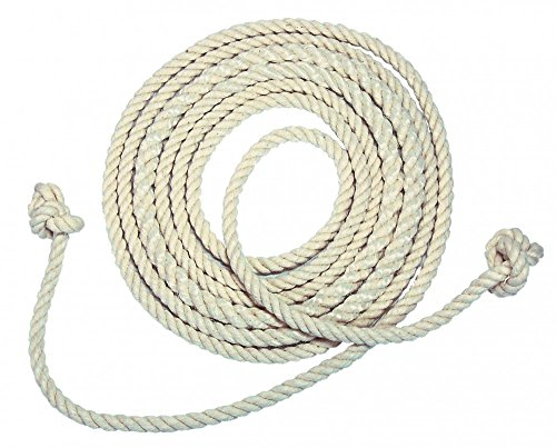 Best Sporting Springseil ohne Griffe, 280 cm, weiß