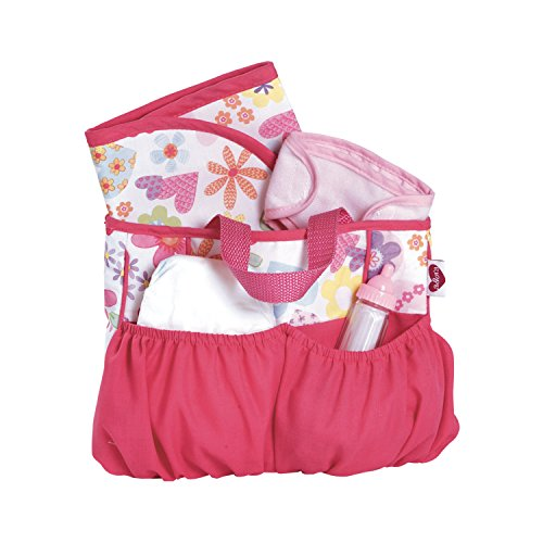 Adora Baby Doll Diaper Bag Accessories with 5Piece Changing Set