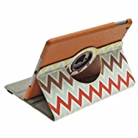 Aduro Rotating Stand Case for iPad 2/3/4 (Chevron)