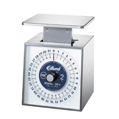 Edlund Company SR-2 Mechanical Portion Scale - Premier Series, Silver (0.25 Ounce Mechanical Scale)