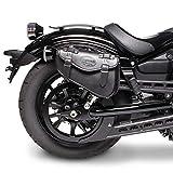 Satteltasche für Harley Davidson Sportster 883 Iron (XL 883 N) Arizona Schwarz rechts