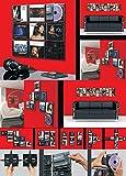 R&K Dienstbekleidung CD Wanddisplay/CD Wandhalter/CD Halter für 9 CD´s - Zur bildhaften Wandpräsentation Ihrer Lieblings CD Sammlung