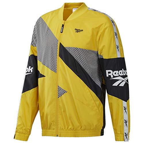 Reebok Herren Classic Vector Jacket Jacke, giftiges Gelb, S