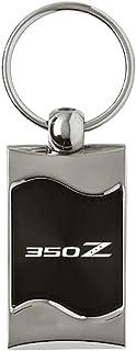 Au-Tomotive Gold, INC. Rectangular Wave Key Fob for Nissan 350Z Black - DS-KC3075.350.BLK-1