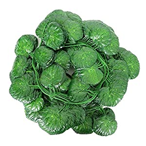 kangben Artificial Rattan Leaves Vine Plant Leaves Green Garland Decoration Artificial Flowers Winding Plastic Ivy