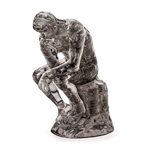 Funtime Gifts BV5895 The Thinker 3D Crystal Puzzle