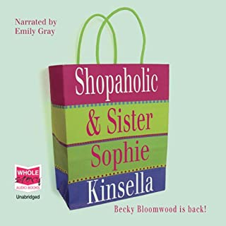 Shopaholic and Sister audiobook cover art