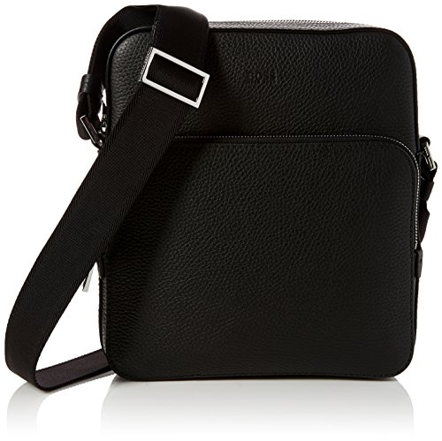 BOSS - Crosstown_ns Pocket, Shoppers y bolsos de hombro Hombre, Negro (Black), 8x26x23 cm (B x H T)
