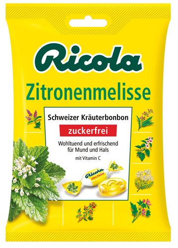 6x Ricola - Zitronenmelisse - 75g