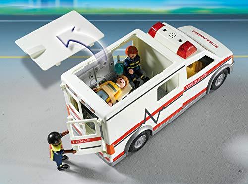 Ambulance Playmobil Secours - 5681 Ambulanciers et Patient Blessé - 2
