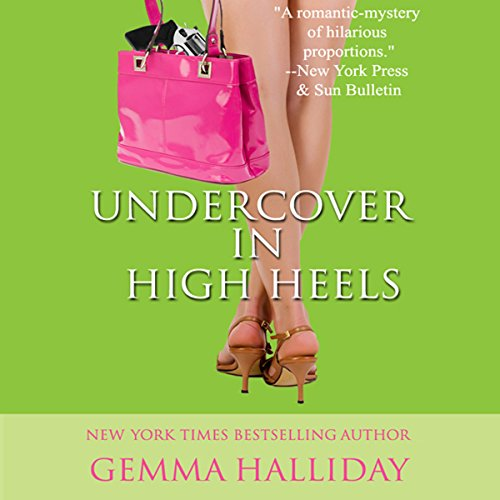 Undercover in High Heels audiobook cover art