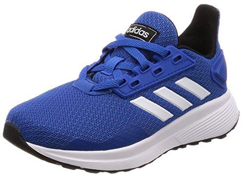adidas Unisex-Erwachsene Duramo 9 K Fitnessschuhe, Blau (Azul/Ftwbla/Negbás 000), 39 1/3 EU