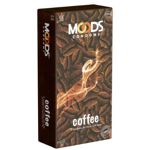 MOODS Coffee Condoms - 12 Kondome mit Kaffee-Aroma, Geschenk-Idee